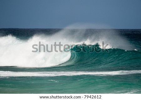 nice wave at pipeline