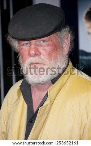 "Nick Nolte at the Los Angeles premiere of ""Gangster Squad"" held at the Grauman's Chinese Theatre in Los Angeles, United States, 07-01-13.  - stock photo"