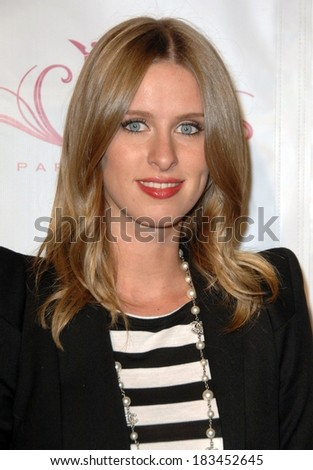 Nicky Hilton at a public appearance for Paris Hilton's Beauty Line Launch Party, The Thompson Hotel, Beverly Hills, CA November 17, 2009 - stock photo