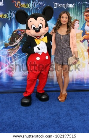 Nicole Anderson at the World Premiere of 'World Of Color,' Disney's California Adventure, Amaheim, CA. 06-10-10