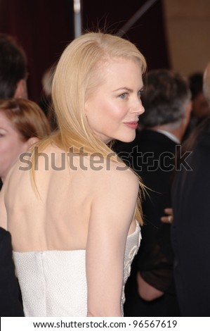 NICOLE KIDMAN at the 78th Annual Academy Awards at the Kodak Theatre in Hollywood. March 5, 2006  Los Angeles, CA  2006 Paul Smith / Featureflash - stock photo