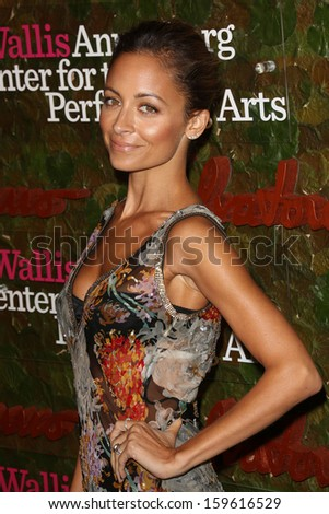 Nicole Richie at the Wallis Annenberg Center For The Performing Arts Inaugural Gala, Wallis Annenberg Center For The Performing Arts, Beverly Hills, CA 10-17-13 - stock photo