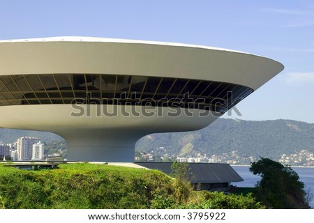 Niemeyer Museum of Contemporary Arts - stock photo