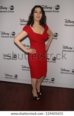 Nigella Lawson at the Disney ABC Television Group 2013 TCA Winter Press Tour, Langham Huntington Hotel, Pasadena, CA 01-10-13 - stock photo