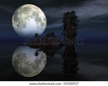 night - stock photo