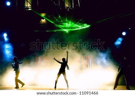 night club - stock photo