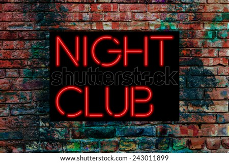 Night Club - stock photo