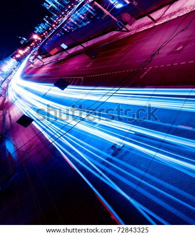 Night motion on urban streets