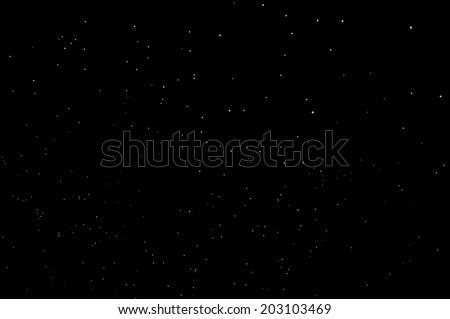Night sky background - stock photo