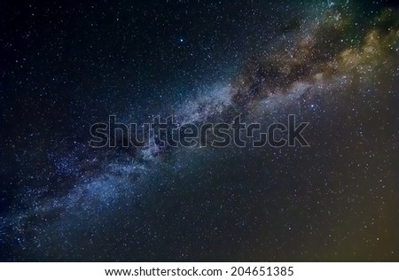 night sky background - stock photo