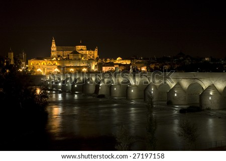 Night view of Cordoba