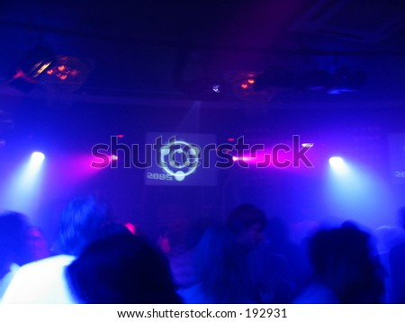 Nightclub - stock photo