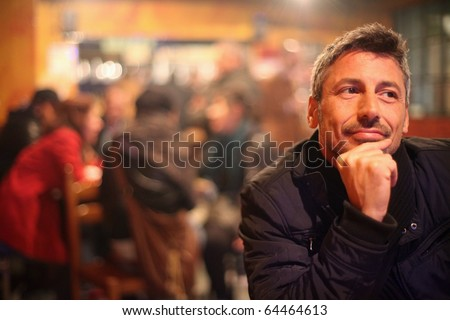 Nightlife Spot - stock photo