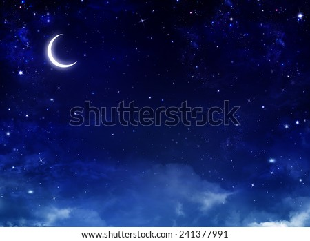 Nightly sky,background