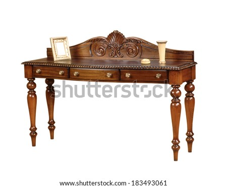 nightstand - stock photo