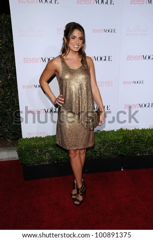 Nikki Reed at the 8th Annual Teen Vogue Young Hollywood Party, Paramount Studios, Hollywood, CA. 10-01-10