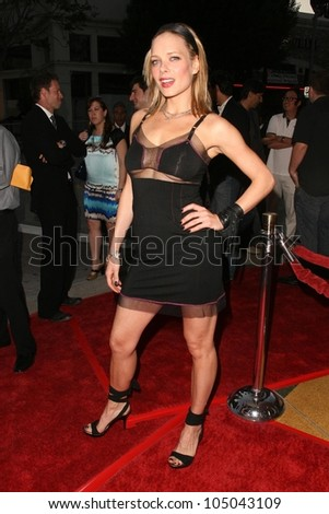 Nina Bergman  at the Los Angeles Premiere of 'Mutant Chronicles'. Mann Bruin Theater, Westwood, CA. 04-21-09
