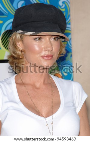 Nip/Tuck star Kelly Carlson at Fox TV's All-Star Party on the Santa Monica Pier. July 24, 2007  Los Angeles, CA Picture: Paul Smith / Featureflash