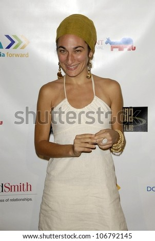 Nirah Shirazipour  at the 2008 Donkaphant Film Festival, Skirball Cultural Center, Los Angeles, CA. 10-29-08