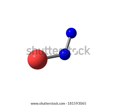 Nitrous oxide, laughing gas, is a chemical compound with the formula N2O. It is an oxide of nitrogen