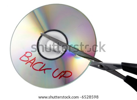 No Backup - stock photo