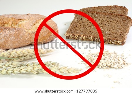 no bread - stock photo
