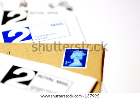 No end to the paperwork... - stock photo