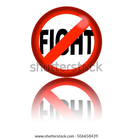 No Fighting Sign No Fighting Sign | www...