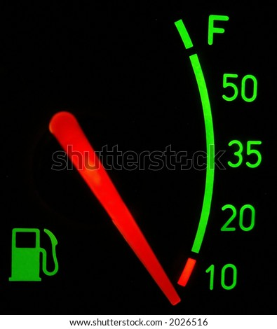 No fuel... - stock photo