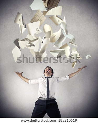no more work - stock photo