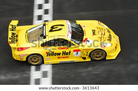 No 3 of HASEMI MOTOR SPORT YellowHat YMS MobaHO ! TOMICA Z, Sebastien Philippe & Masataka Yanagida in action during Super GT 2007 in Sepang