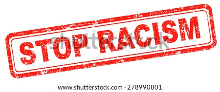 no racism stop discrimination equal rights - stock photo
