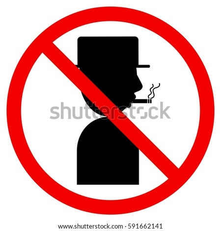 No smoking. Illustrator