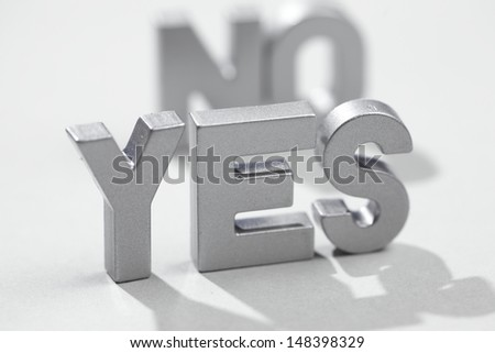 No-yes icons - stock photo