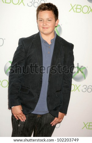 "Noah Munk at the World Premiere of ""Project Natal"" for XBOX 360 Imagined by Cirque Du Soleil, Galen Center, Los Angeles, CA. 06-13-10"