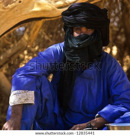 Nomad Touareg 2 - stock photo