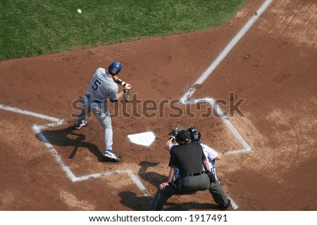 Nomar Garciaparra ready to swing - stock photo