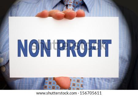 Non Profit - stock photo