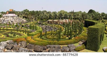 Nong-Nuch Park - stock photo