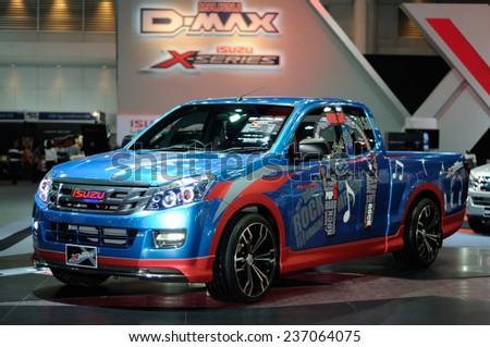 Bangkokdec 03 Isuzu Dmax Vcross 4 Stock Photo 121284394 ...