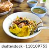 Noodle of Phuket and Soup. - stock photo