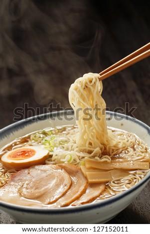 noodles, - stock photo