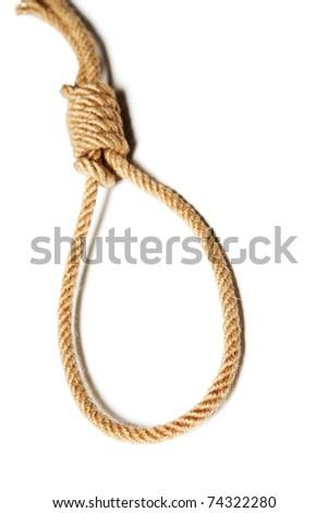 Noose - stock photo
