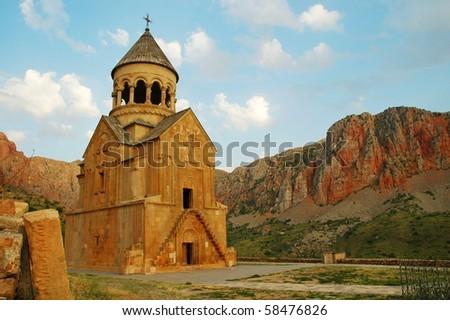 Noravank monastery, 13th century, Armenia - stock photo