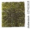 nori, japanese food, dried sheets of laver seaweed, sushi ingredient - stock photo