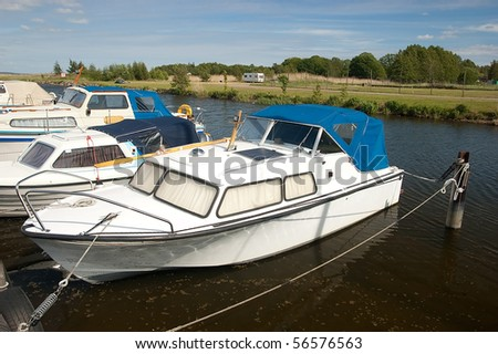 Norje yacht and caters harbor- Norje is a small village in southern Sweden, Europe