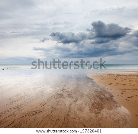 Normandy, La Manche - stock photo