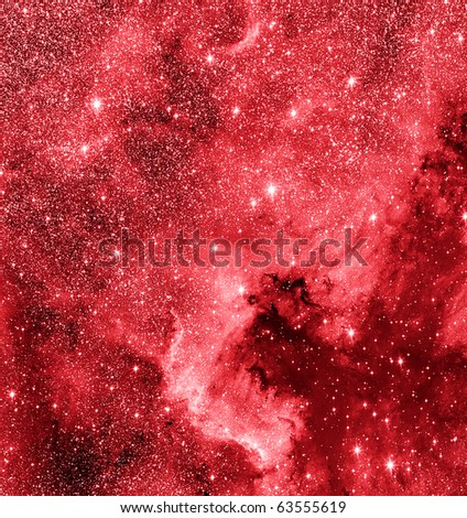 North America nebulae - stock photo