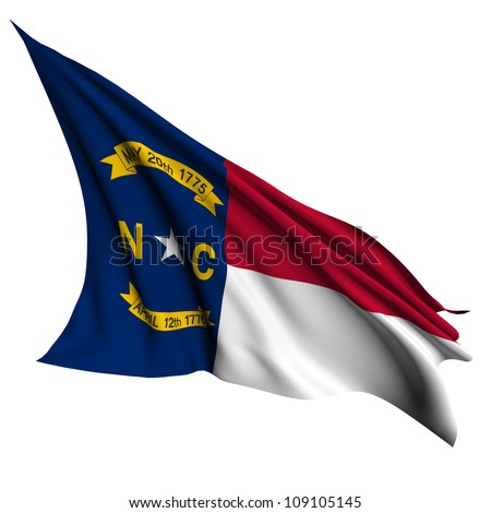 North Carolina flag - USA state flags collection no_2