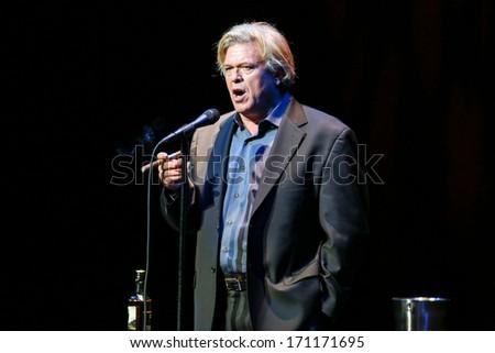 NORTH CAROLINA - NOVEMBER 22, 2013:  Ron White performs as part of his 2013 world tour.     - stock photo